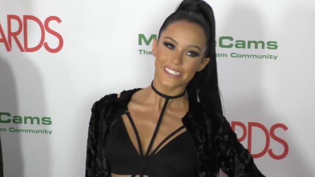 Megan Rain at the 2017 AVN Awards Nomination Party at Avalon Nightclub on November 17 2016 in Hollywood California