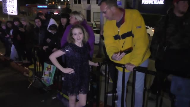 megan stott outside the entertainment weekly prescreen actors guild awards party at chateau marmont in los angeles at celebrity sightings in los... - entertainment weekly stock videos & royalty-free footage