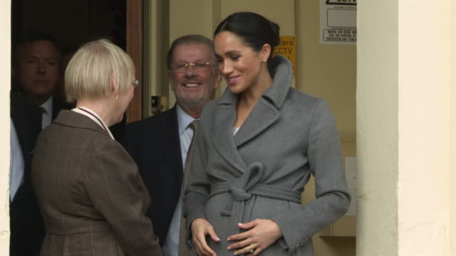 4k meghan duchess of sussex visits brinsworth house on december 18 2018 in london england - meghan duchess of sussex stock videos & royalty-free footage