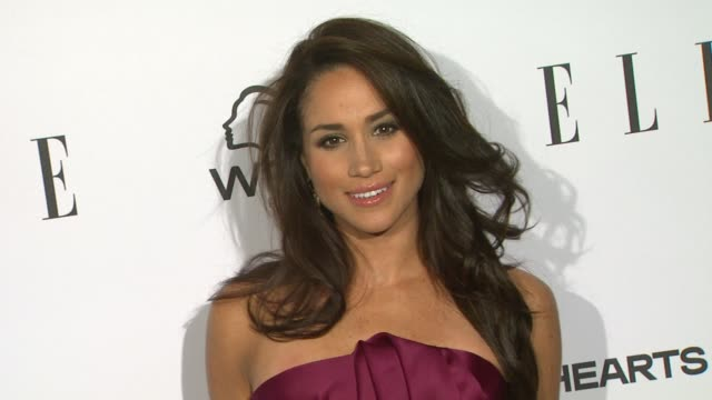 meghan markle at elle's 2nd annual 'women in television' celebration 1/24/2013 in west hollywood ca - meghan duchess of sussex stock videos & royalty-free footage