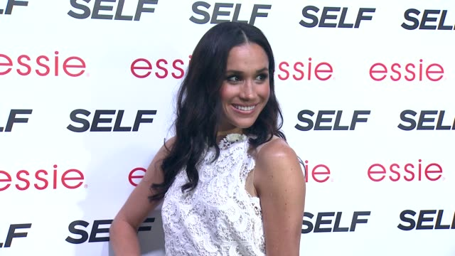 meghan markle at self magazine rocks the summer at phd rooftop lounge at dream downtown on july 16 2013 in new york new york - meghan duchess of sussex stock videos & royalty-free footage