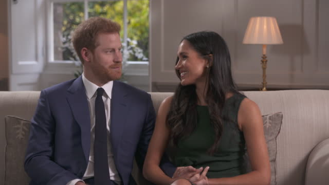 Meghan Markle joking that she couldn't say yes quick enough when Prince Harry proposed to her