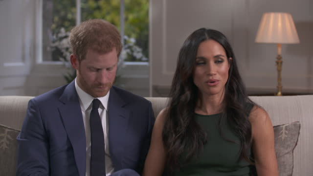 Meghan Markle talking about how her family reacted to her relationship with Prince Harry and the media scrutiny