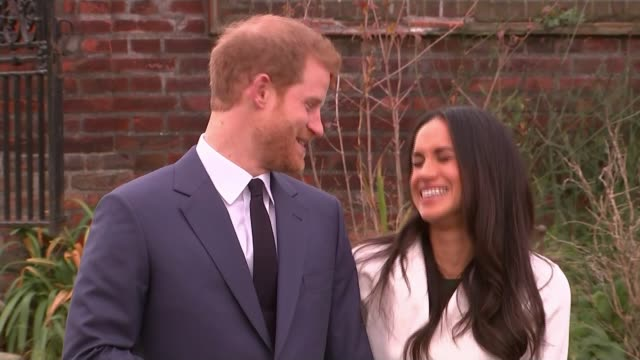 Meghan Markle to spend Christmas with the Royal Family at Sandringham LIB / London Kensington Palace EXT Prince Harry and his fiancee Meghan Markle...