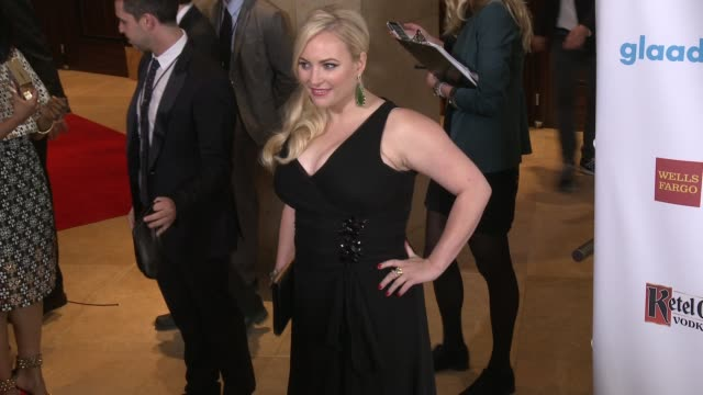 meghan mccain at the 25th annual glaad media awards at the beverly hilton hotel on april 12, 2014 in beverly hills, california. - the beverly hilton hotel stock videos & royalty-free footage