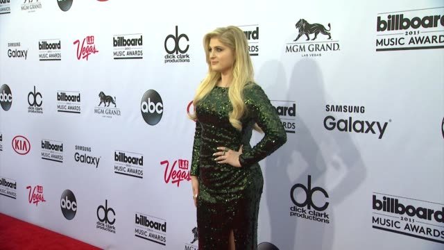 meghan trainor at mgm grand on may 17 2015 in las vegas nevada - meghan trainor stock videos & royalty-free footage