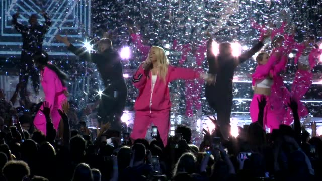meghan trainor at the we day california celebrates 16000 youth leading lasting change in america at the forum on april 25 2019 in inglewood california - meghan trainor stock videos & royalty-free footage