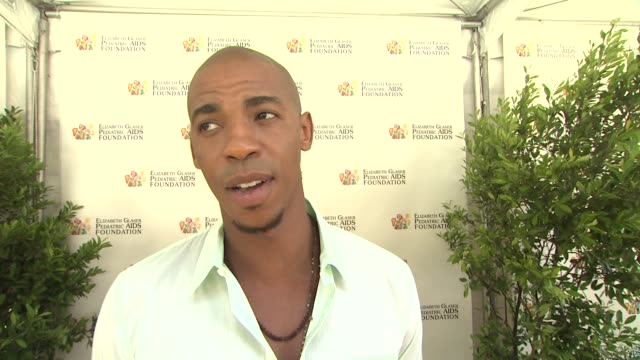 Mehcad Brooks on today's event on the work EGPAF does and on what he's looking forward to at 23rd Annual 'A Time For Heroes' Celebrity Picnic...