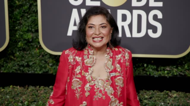 Meher Tatna at the 75th Annual Golden Globe Awards at The Beverly Hilton Hotel on January 07 2018 in Beverly Hills California