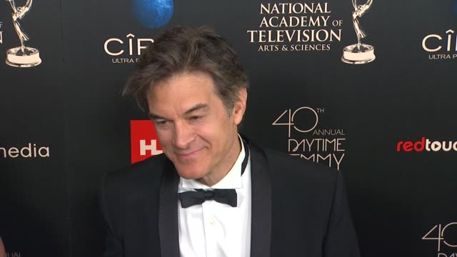 Mehmet Oz at The 40th Annual Daytime Emmy Awards on 6/16/13 in Los Angeles CA