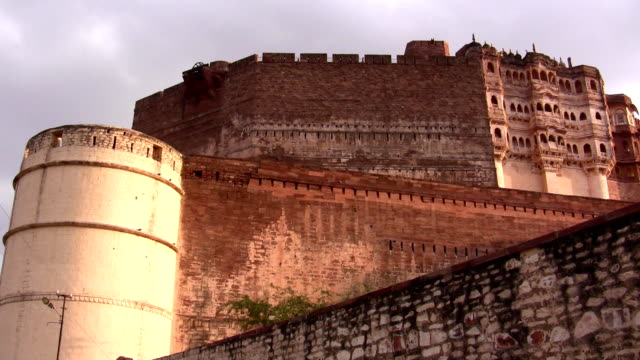 mehrangarh fort - fortress stock videos & royalty-free footage