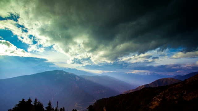 meili snow mountain in yunnan,china - yunnan province stock videos and b-roll footage