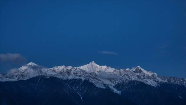 meili snow mountains - yunnan province stock videos and b-roll footage