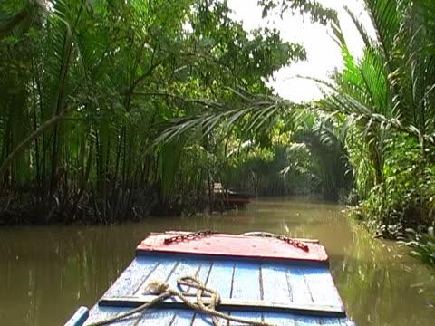 vídeos y material grabado en eventos de stock de canales de mekong - vietnam
