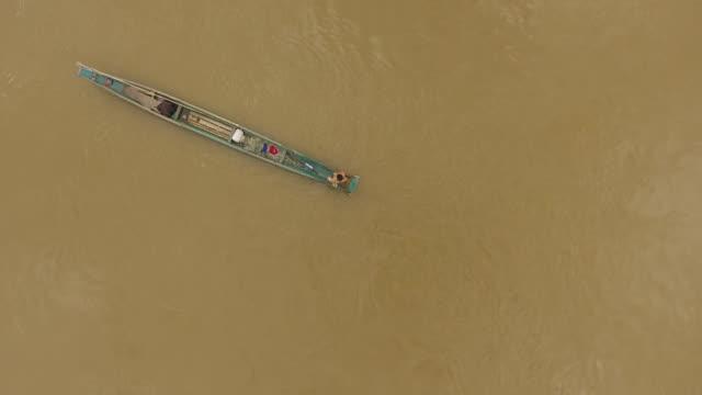Mekong fisherman, Laos