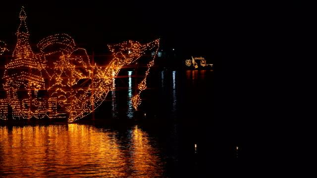 mekong river cruises - naga river stock videos and b-roll footage