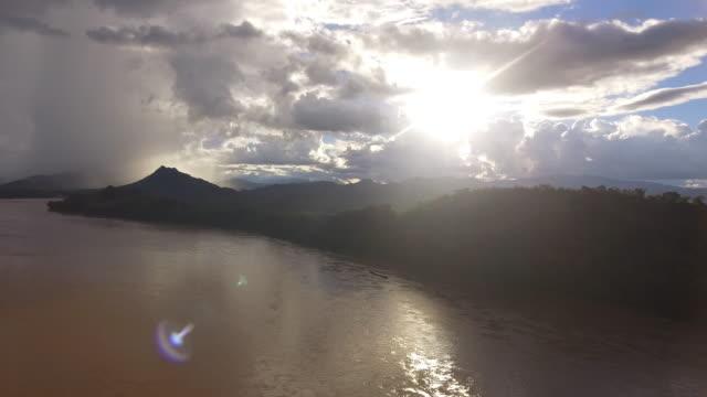 Mekong River landscape, Laos