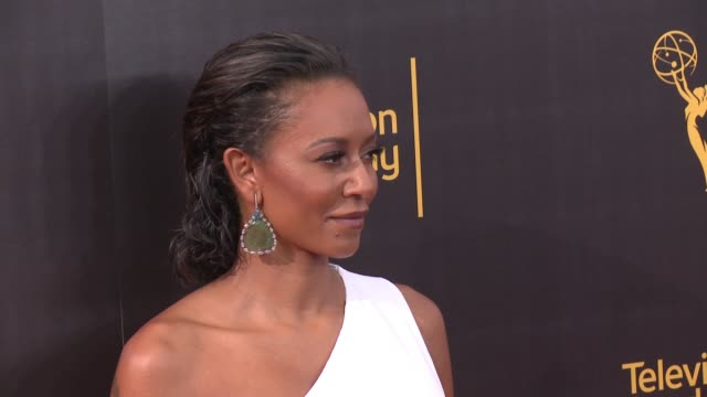 Mel B at the 2016 Creative Arts Emmy Awards Day 1 Arrivals at Microsoft Theater on September 10 2016 in Los Angeles California
