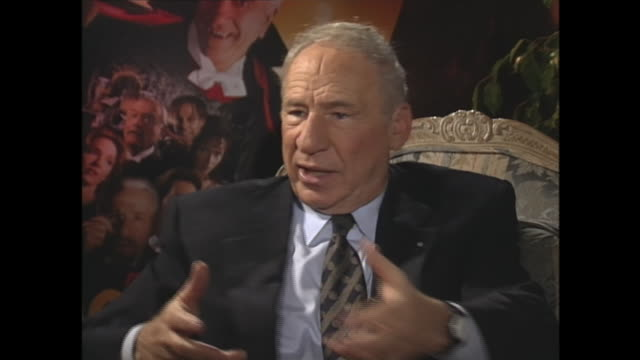 mel brooks on getting into comedy writing - tourist resort stock videos & royalty-free footage