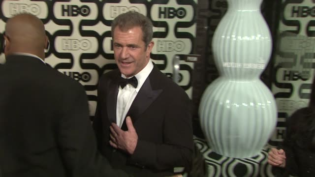 mel gibson at hbo's 70th annual golden globes after party in los angeles ca on 1/13/13 - mel gibson stock videos and b-roll footage