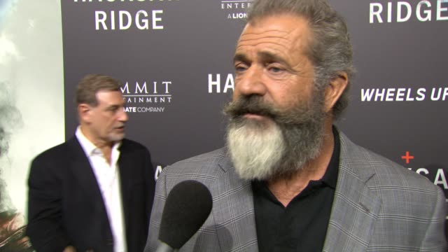 interview mel gibson at on october 26 2016 in new orleans louisiana - mel gibson stock videos and b-roll footage