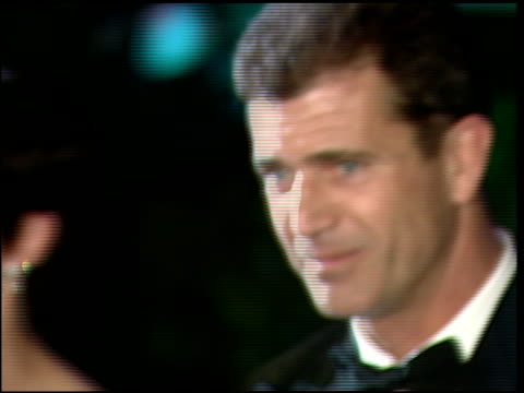 mel gibson at the 1997 academy awards vanity fair party at the shrine auditorium in los angeles california on march 24 1997 - 69th annual academy awards stock videos & royalty-free footage