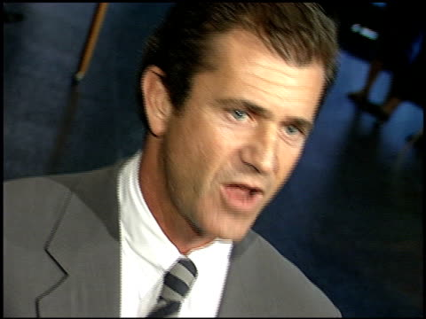 Mel Gibson at the 'An Ideal Husband' Premiere at DGA in Los Angeles California on June 9 1999