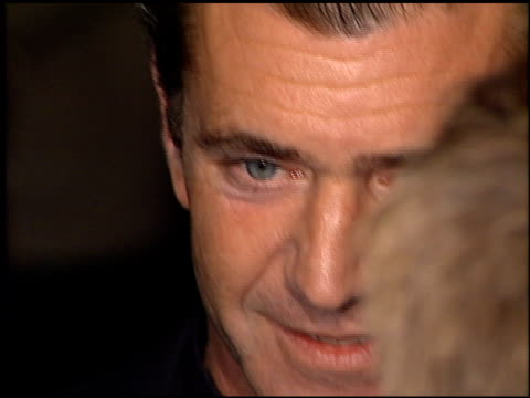 Mel Gibson at the 'Payback' Premiere at Paramount Studios in Hollywood California on January 28 1999