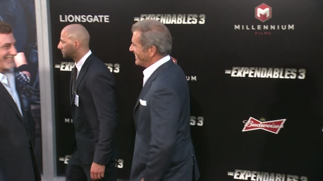 Mel Gibson at the The Expendables 3 Los Angeles Premiere at TCL Chinese Theatre on August 11 2014 in Hollywood California