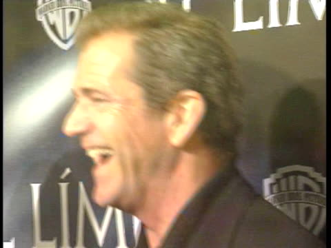 Mel Gibson attends the premiere of his new movie Madrid Spain
