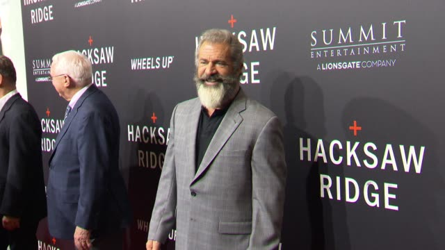 mel gibson on october 26 2016 in new orleans louisiana - mel gibson stock videos and b-roll footage