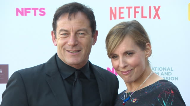 vídeos de stock e filmes b-roll de mel giedroyc jason isaacs at the national film and television school annual gala event at old billingsgate on june 26 2018 in london england - mel giedroyc
