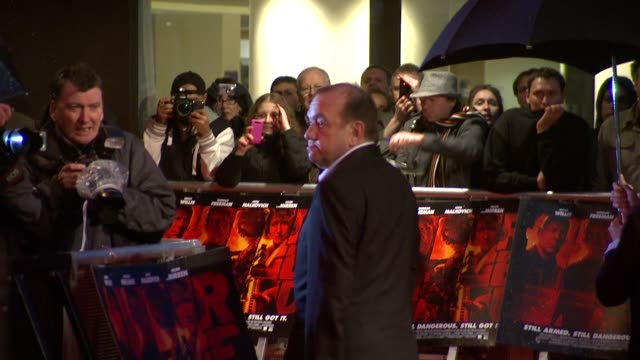 Mel Smith at the Red UK Premiere at London England