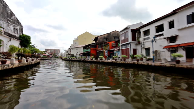 melaka river in malaysia - malacca stock videos and b-roll footage