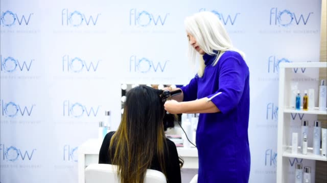 toronto ontario september 09 melanie bolton styling hair at 2019 toronto international film festival portrait studio at intercontinental hotel on... - intercontinental hotels group stock videos & royalty-free footage