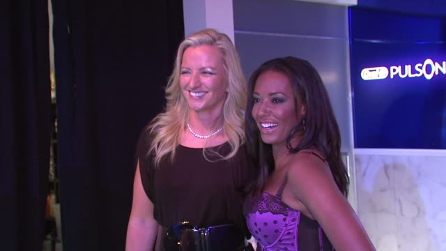 Melanie Brown Michelle Mone at the Ultimo Presents its Spring Summer 2009 Line with Mel B at New York NY