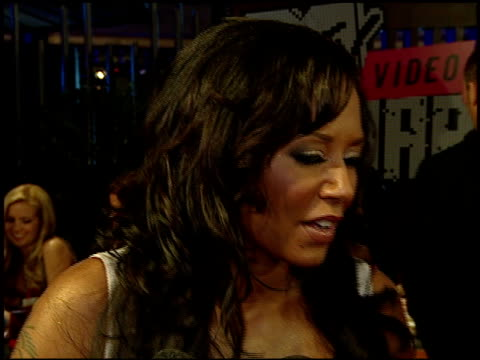 melanie brown on the event at the 2007 mtv video music awards at the palms casino resort in las vegas nevada on september 10 2007 - mtv stock videos & royalty-free footage