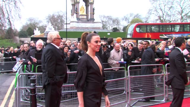 melanie c arrives for gorby 80 at the royal albert hall melanie c at royal albert hall on march 30, 2011 in london, england - spice girls stock-videos und b-roll-filmmaterial