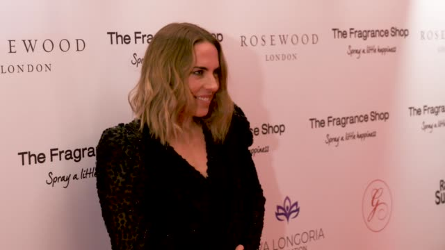 melanie c at the rosewood hotel on november 02, 2018 in london, england. - spice girls stock-videos und b-roll-filmmaterial