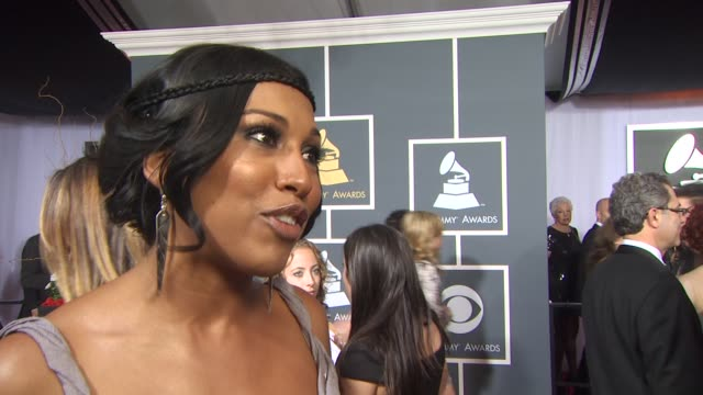 Melanie Fiona on her nomination who she is looking forward to seeing perform what she is expecting from Lady GagaÕs performance how she chose her...
