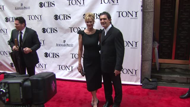 Melanie Griffith and Antonio Banderas at the 64th Annual Tony Awards at New York NY