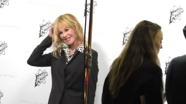 melanie griffith arrives to the stella mccartney autumn 2016 presentation at amoeba records in hollywood in celebrity sightings in los angeles - melanie griffith stock videos and b-roll footage
