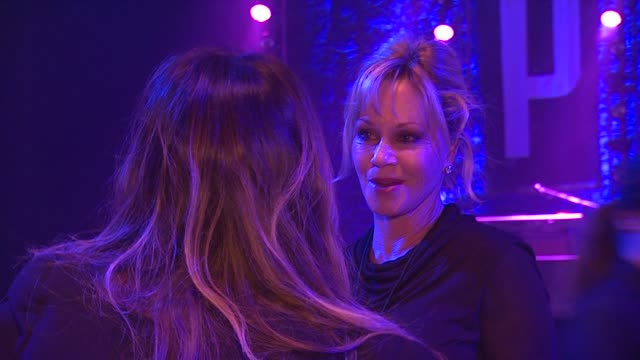 melanie griffith at st john's health center's power of pink benefiting the margie petersen breast center on 11/12/12 in santa monica ca - melanie griffith stock videos and b-roll footage