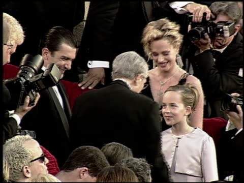 melanie griffith at the 2000 academy awards at the shrine auditorium in los angeles california on march 26 2000 - 72nd annual academy awards stock videos and b-roll footage