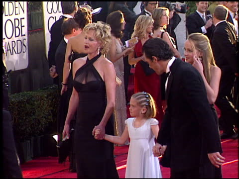 Melanie Griffith at the 2004 Golden Globe Awards at the Beverly Hilton in Beverly Hills California on January 25 2004