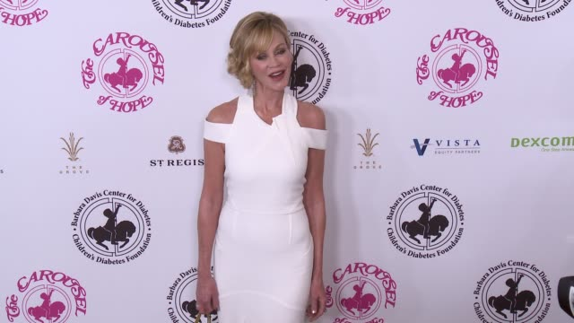 Melanie Griffith at The 2016 Carousel of Hope Ball in Los Angeles CA
