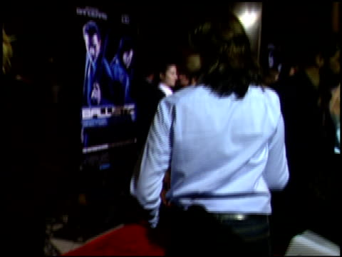 melanie griffith at the 'ballistic ecks vs sever' premiere at the cinerama dome at arclight cinemas in hollywood california on september 18 2002 - melanie griffith stock videos and b-roll footage