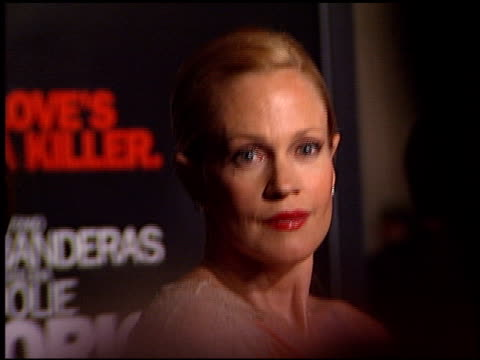 melanie griffith at the 'original sin' premiere at dga theater in los angeles california on july 31 2001 - melanie griffith stock videos and b-roll footage