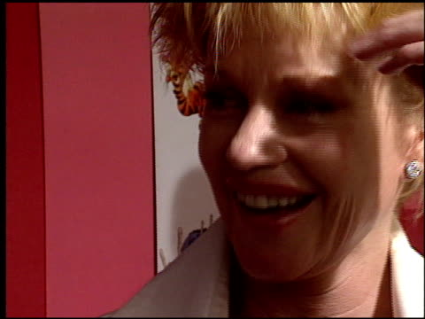 melanie griffith at the 'piglet's big movie' premiere at the el capitan theatre in hollywood, california on march 16, 2003. - el capitan theatre stock videos & royalty-free footage