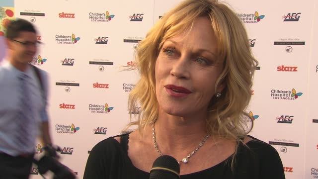 Melanie Griffith on how she became involved with Children's Hospital on why she supports CHLA and on having a new state of the art facility in our...